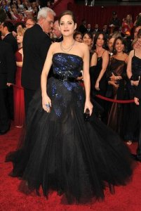 Marion Cotillard Oscars/Academy  Awards 2009 Red Carpet Photos