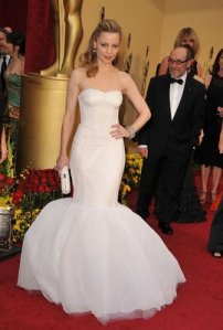 Melissa George Oscars/Academy  Awards 2009 Red Carpet Photos
